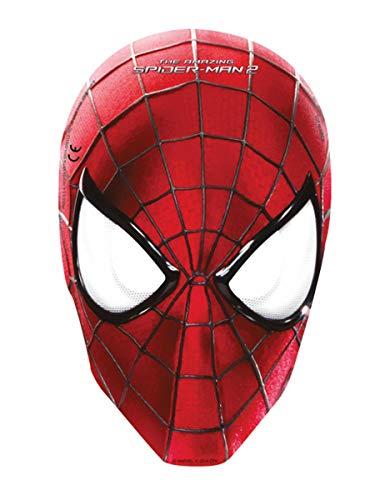 Ciao Procos 82945 – 6X Masques en Papier Amazing Spider Man 2\