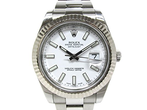Rolex Datejust II Mechanical (Automatic) Silver Dial Mens Watch 116334 (Pre-Owned)