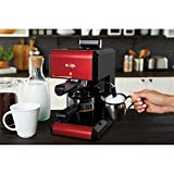 Mr. Coffee Steam Espresso Maker BVMC-ECM270R, Red