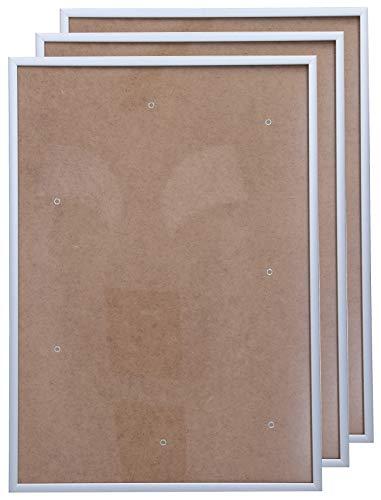 Bilderrahmen DIN A3 Alu 3er-Set 29,7 x 42,0 cm