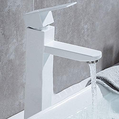 LBMTFFFFFF Stainless Steel Basin Faucet Square Ranking online shop TOP15 Paint Wash Black