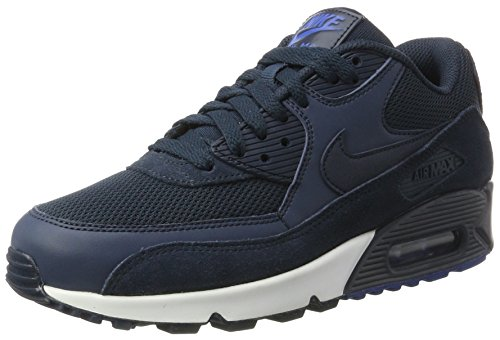 Nike Air MAX 90 Essential, Zapatillas de Gimnasia Hombre, Azul (Armor Nav/Armor...