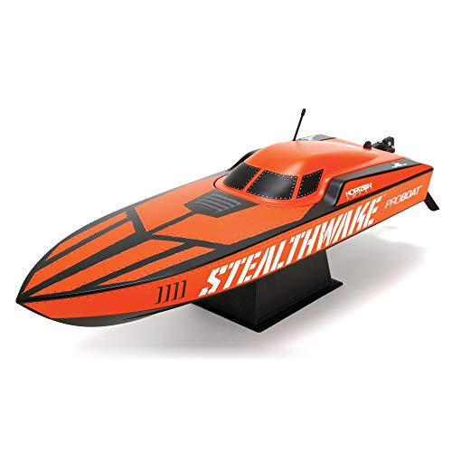 Pro Boat Stealthwake RC Boat 23' Brushed Deep-V RTR (Includes Controller, Transmitter, Battery and Charger), PRB08015