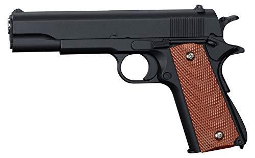 Softair Pistole Voll Metall Rayline RV14 (Manuell Federdruck), Nachbau im Maßstab 1:1, Länge: 22cm, Gewicht: 450g, Kaliber: 6mm, Farbe: Schwarz - (unter 0,5 Joule - ab 14 Jahre)