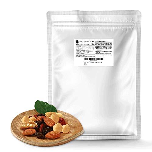 ミックスナッツ デイリーナッツ Original 1kg 大袋 産地直輸入 無塩 (アーモンド等級:US Extra No.1) 防災食品 非常食 備蓄食 保存食