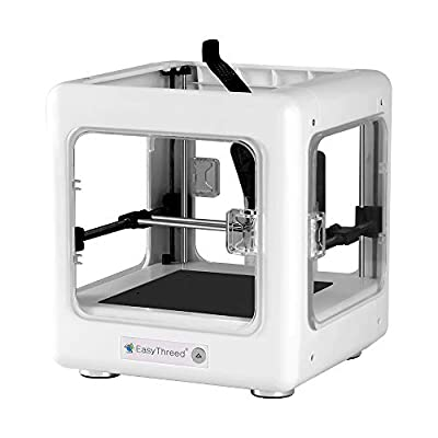 Kacsoo Mini 3d Printer Diy Kit Portable With Slicing Software (e3d Nano) Support One Key Printing Affordable Best Gift For Beginner Kid Teens Printing Size 90 * 110 * 110mm White