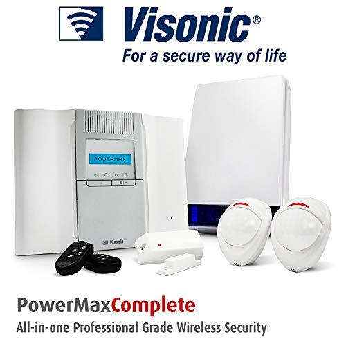 B13 - POWERMAX VISONIC sistema de alarma antirrobo sensor de movimiento inalámbrico/para alarmas/panel/sirena/puerta CONTACT
