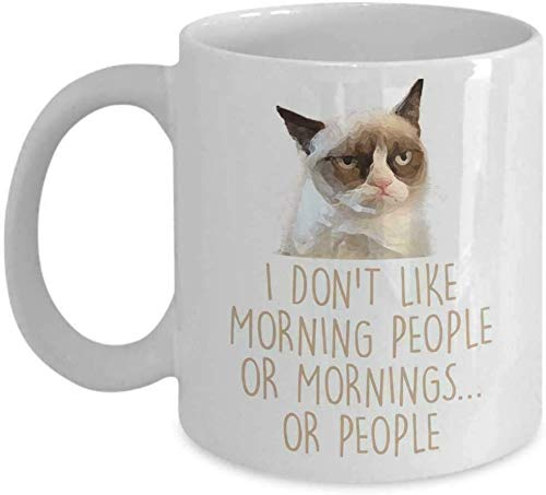 Lplpol The Red Circle – Grumpy Cat Kaffeetasse, Teetasse, 325 ml