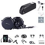Kit Mid Drive BBS02B 48V 750W Kit Moteur électrique vélo pour Conversion Ebike (Batterie: Aucun,...