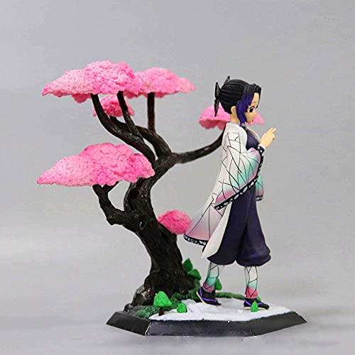 Demon Slayer Doll, Doll Sakura Scene Standbeeld Kleine Pop,Figure 2