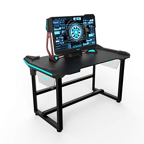 E-Blue EGT536BKAA-IA - Escritorio de jugador para gaming y sport