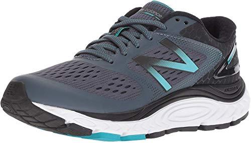 New Balance Women's 840 V4 Running Shoe, Thunder/Pisces, 8 W US