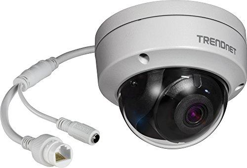 TRENDnet Indoor/Outdoor 5MP H.265 WDR PoE IR Dome Netzwerk Kamera, Nachtsicht bis zu 30 M (98 ft.), TV-IP317PI