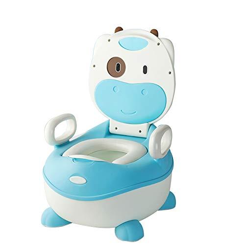 Grande capacité Bébé toilette enfant,Cartoon Vache Siège pot pour bébé Type de tiroir Easy clean Siège de toilette pour bébé Peut être la voiture de jouets usagés Pot wc pour bébés-N