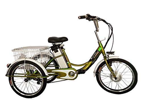 FAHRRAD Elektrofahrrad Moped Elektro-Dreirad Ältere Roller Lithium 48V Led-Anzeige Leuchtet Es Gilt Für Draussen 24 Zoll/E/Length (162cm) X Height (99 / 103cm ohne Rechtspersönlichkeit 65289X