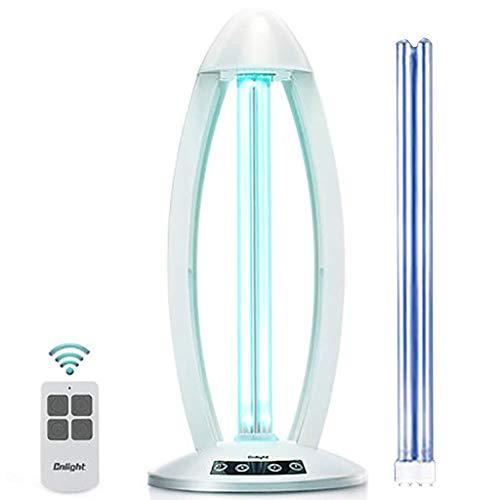 Purificatore d'aria con lampada di disinfezione UV con lampada di sterilizzazione Livello antibatterico Lampada germicida ultravioletta in PVC 100% leggera Tubo a doppia luce INTEGRATO per lavaggi