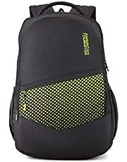 American Tourister 51 cms Black Casual Backpack (AMT MIST SCH BAG02 BLACK)