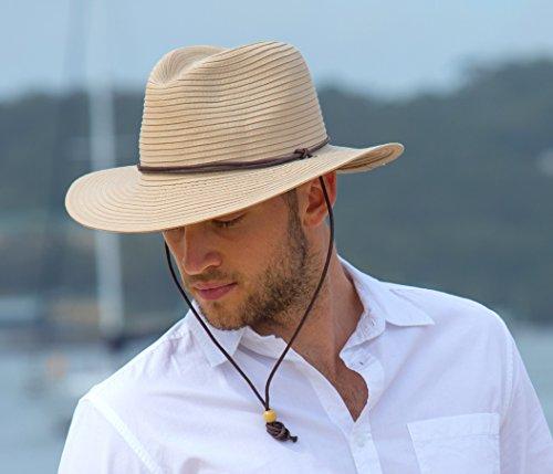 Rigon Headwear Herren für Damen Uv-safarihut, Beige, L/XL