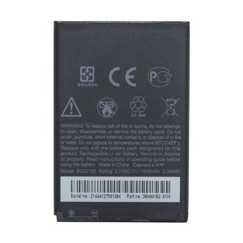 HTC BA S520 Akku für HTC G11 Incredible S, HTC G12 Desire S, 100% Originalprodukt in HTC Verkaufsverpackung