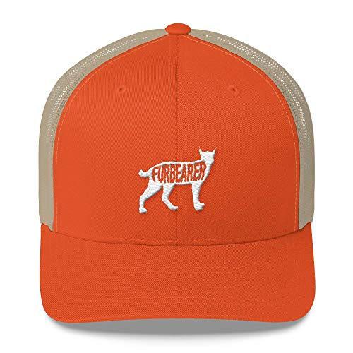 Hueco Gear- Bobcat Furbearer Trucker Snap Back Mesh Hat- Only The Best Gear for The Hunting, Fishing, and Outdoorsman