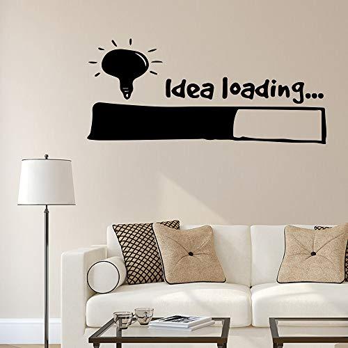 JXMN Carga de Ideas Pegatinas de Pared calcomanías de Arte de Pared decoración del hogar Dormitorio Sala de Estar Vinilo decoración de la Pared 86x194 cm