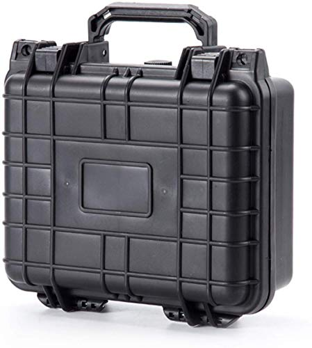 GDT Waterproof Hard Case with Foam Included, 10.5 Inches, Great for Camera, DJI Spark, Pistol or Gun Carrying Case