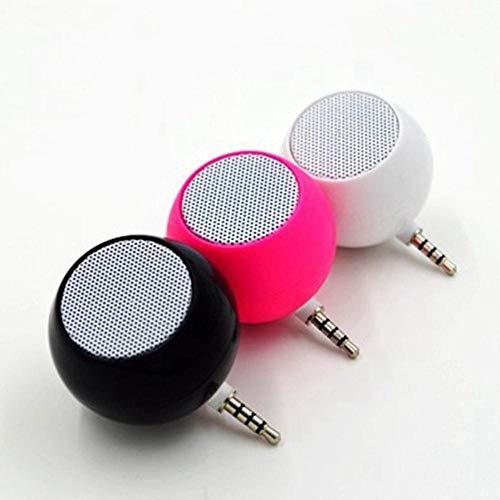 EDCV MP3-speler Versterker Externe hoogwaardige geluidsbedrade luidsprekers Draagbare luidspreker - Mobiele telefoon Mini-luidspreker`` LF01-006-Zwart