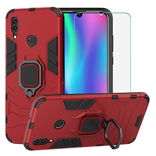BestAlice Funda para Huawei P Smart 2019 / Honor 10 Lite Case Protector de Pantalla de Cristal Templado ,…