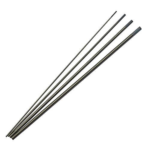 2 porcentaje Ceriated WC20 Gris TIG Soldadura electrodos tungsteno Tamaño clasificado 1,0mm x 150mm 1,6mm x 150mm 2,4mm x 150mm 3,2mm x 150mm, 4pcs