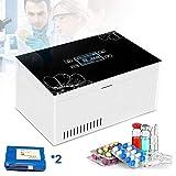 WHR-HARP Insulin Kühlbox, Medikamente Kühlschrank, Elektrische Kühlbox, 2-8 ℃ LCD-Anzeige Kühlcontainer Kleiner Kühlschrank Halten Diabetes-Medikamente Isoliert