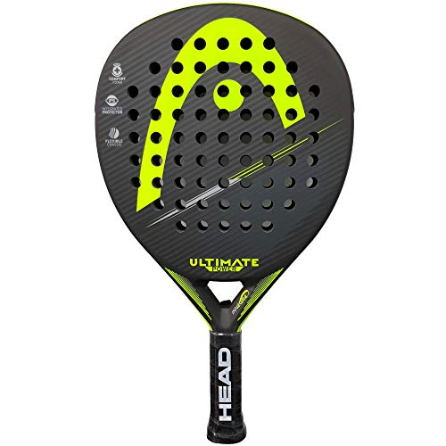 Head Ultimate Power 2018 Raquette de padel Jaune