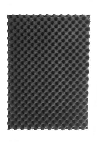 SCHAUMEX ® Noppenschaumstoff 50x30x5cm - Akustik Schaumstoff, Akustikschaumstoff, Dämmung für Tonstudio, Youtube room, In Deutschland hergestellt - 5