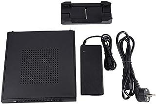 Monland -ITX Slim Caja de Computadora de Factor de Forma Peque?O Caja de Computadora HTPC con 2 X USB2.0 12V 8A Adaptador de Corriente Enchufe de la EU