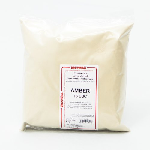 Brewferm - Extracto de Malta Deshidratado en Polvo Ámbar 1kg