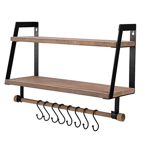 Vencipo -   Wandregal Holz für
