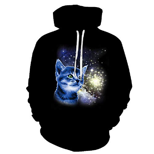 Preisvergleich Produktbild nobrand 3D-Digitaldruck personalisierte Milli Hooded Casual Herren Hooded Sweater Quelle