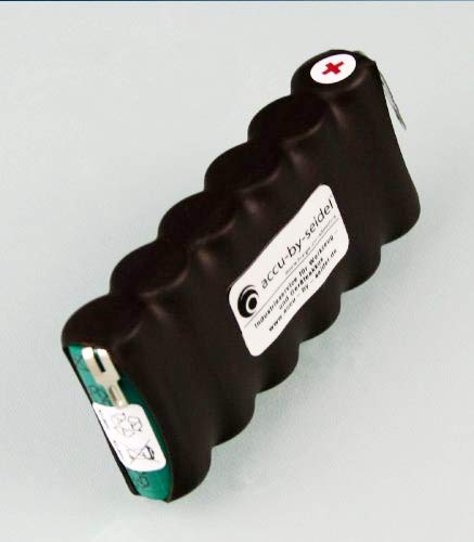 Ersatz-Akku (W60) BS60 geignet für Wolf ACCU BS 60 Gartengeräte - 2100mah - 7,2 Volt - NiMH - Kurzschlußgeschützt u. Vibrationsgedämpft