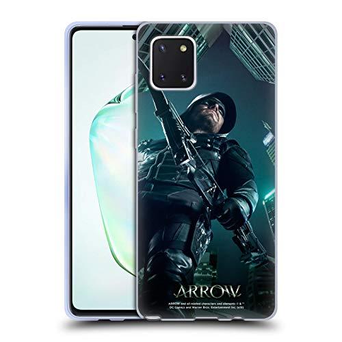 Head Case Designs Oficial Arrow TV Series Temporada 5 Carteles Carcasa de Gel de Silicona Compatible con Samsung Galaxy Note10 Lite