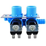 285805 WaterInlet Valve,205613 Water Valve for May-tag Washer by Wadoy for May-tag Whirlpool Washing Machine PS1583805 AP4023852