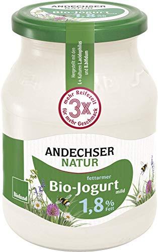 Andechser Natur Bio Bio Jogurt mild 1,8% (6 x 500 gr)