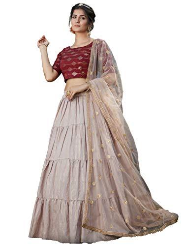 San Valentín Especial Exclusivo indio Mujeres Tradicional Lehenga Choli L04