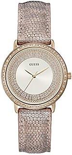 ساعة رسمية للنساء من جيس بهيل ستانلس ستيل، مينا ابيض، انالوج -W1064L2