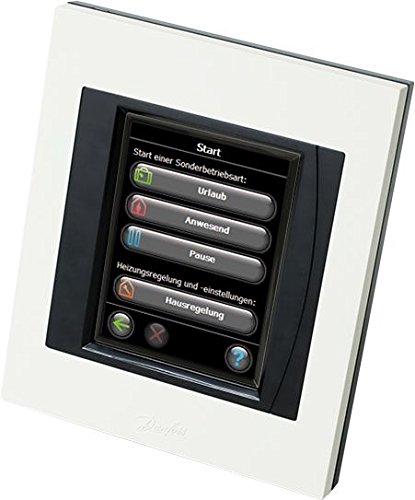 Danfoss Link Starterkit enthält 1 Zentralregler und 3 Connect Thermostate, Farbe weiß, 4 Stück, white, 014G0500 - 8