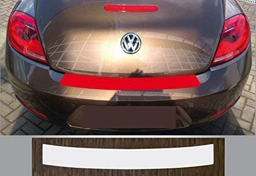 passgenau für VW Beetle, ab 2011 Lackschutzfolie Ladekantenschutz transparent