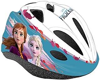 Disney II - Casco de protección para Bicicleta Infantil, Talla Ajustable, Multicolor, 53-55 cm
