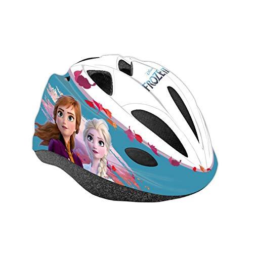 Disney Frozen II Casco da Bicicletta Easy Bambino - Il segreto di Arendelle Frozen 2 Casco di Protezione per Bambini Taglia Regolabile 52-56 cm