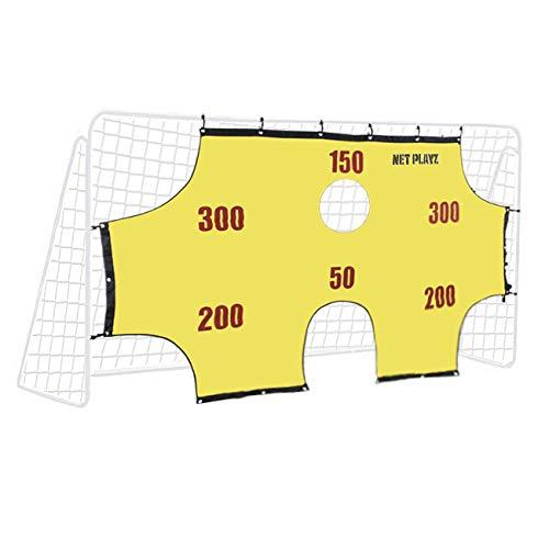 SPRINGOS Fußballtor für Kinder | mit Torwand | Faltbar mit Stabilem Netz | 290 x 165 x 90 cm | Jugendtor | Perfekt für Fußballspiel/Hockey/Indoor/Outdoor/Garten