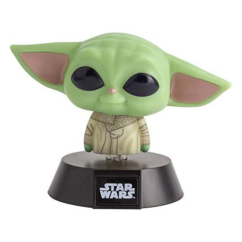 Mandalorian - Lámpara - Baby Yoda - Luz nocturna 3D decorativa The Child - Caja de regalo.