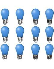 4W E27 LED-gloeilamp, A60 Edison schroeflamp, 400Lm, 40W vervanging, niet-dimbaar, Retro Vintage lamp, 10 Pack