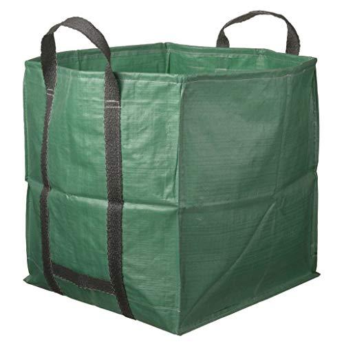 Nature sac de déchet de jardin terrasse carré Sac polyvalent 325 L verte 6072401